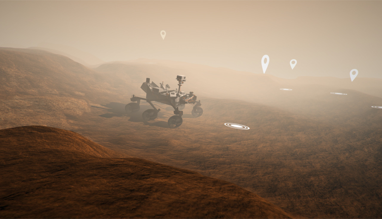 "The Washington Post Presents ""Mars: An Interactive Journey"""